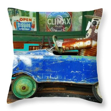 Climax Throw Pillow by Skip Hunt
