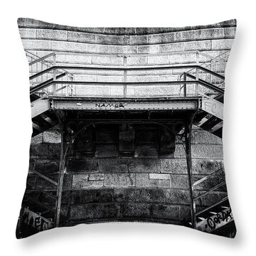 Climb The Stairs Throw Pillow