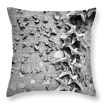 Climbing Vine Throw Pillow