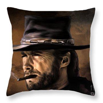 Clint Throw Pillow