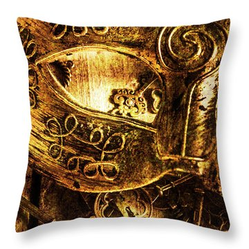 Cloaking A Kingdom In Demise Throw Pillow