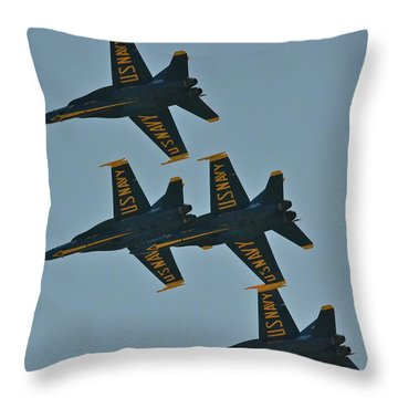 Throw Pillow featuring the photograph Close Encounter by Carol  Bradley