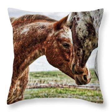 Close Friends Throw Pillow