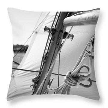 Close-hauled Throw Pillow