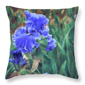 Throw Pillow featuring the photograph Close To Heaven by Linda Lees