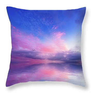 Close To Infinity Throw Pillow by Philippe Sainte-Laudy