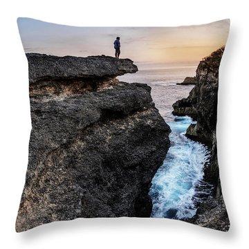 Close To Nature Throw Pillow