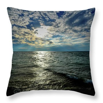 Close To Sunset... Throw Pillow