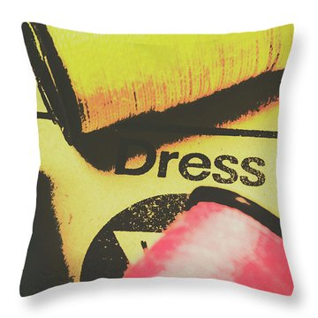 Close To The Pattern Design Throw Pillow