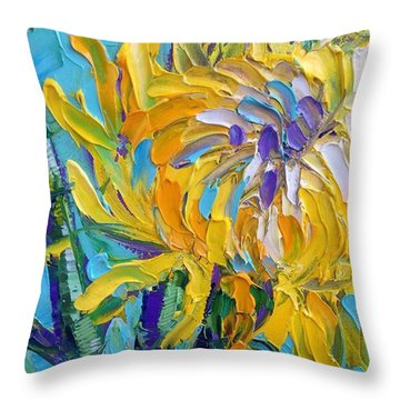 Impressionism Throw Pillows