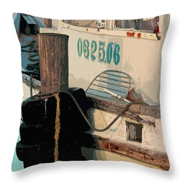 Throw Pillow featuring the photograph Closed For Christmas by Joe Jake Pratt
