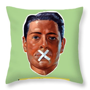 Closed For The Duration - Ww2 Throw Pillow