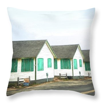 Closed For The Season #2 Throw Pillow