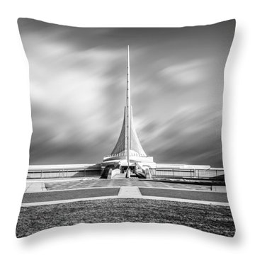 Closed Sails Throw Pillow