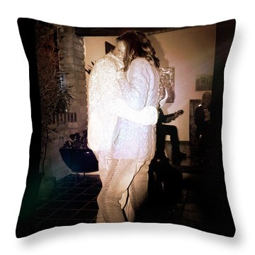Closeness Throw Pillow by Al Bourassa