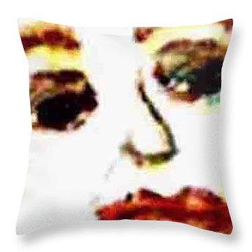 Closer Look Throw Pillow