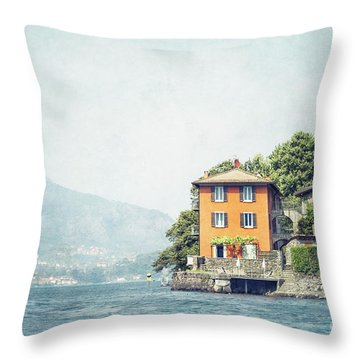 Closer To The Edge Throw Pillow