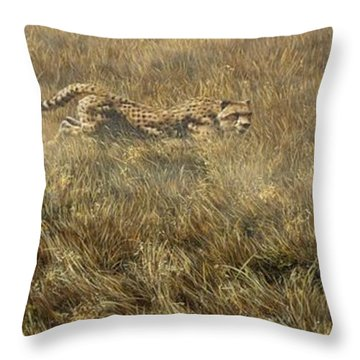 Closing In Fast Throw Pillow