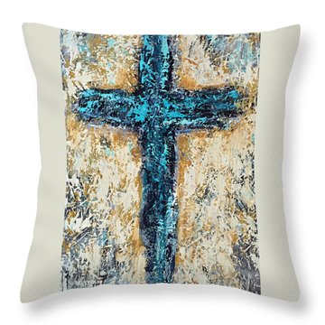 Clothe Yourself In Mercy Throw Pillow by Kirsten Reed