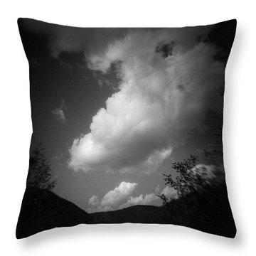Cloud #2186 Throw Pillow