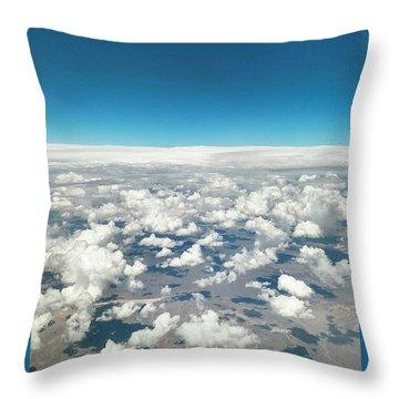 Cloud #9 Throw Pillow