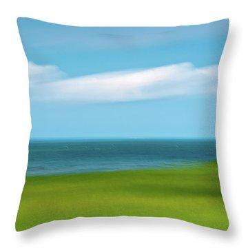 Cloud Bank 3 Throw Pillow