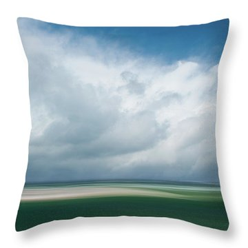 Cloud Bank Over Chatham Throw Pillow