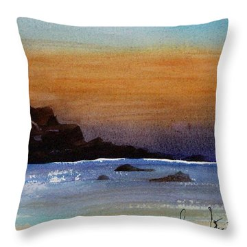 Cloud Bank Throw Pillow