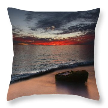 Cloud Choir Throw Pillow by Kym Clarke