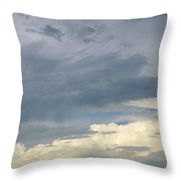 Cloud Cover Throw Pillow by Erin Paul Donovan