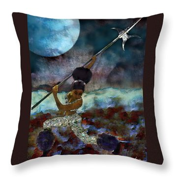 Cloud Dancer A Capella Throw Pillow
