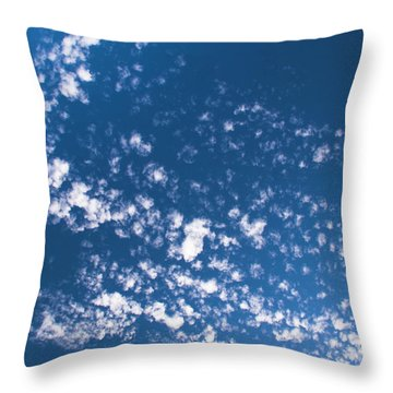 Throw Pillow featuring the photograph Cloud Dragon by Yulia Kazansky