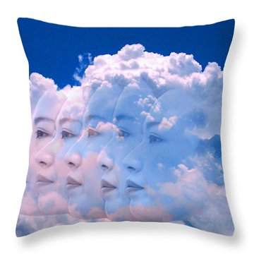 Cloud Dream Throw Pillow by Matthew Lacey
