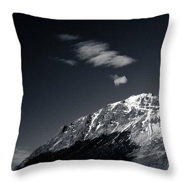 Cloud Formation Throw Pillow by Dave Bowman