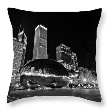 Cloud Gate Throw Pillow
