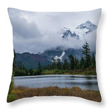 Cloud Mountain Throw Pillow