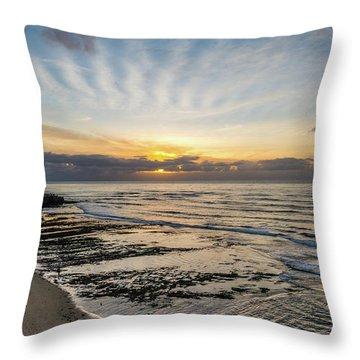 Cloud Rays Vertical Throw Pillow