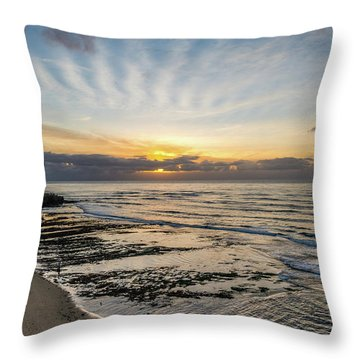 Cloud Rays Vertical Throw Pillow