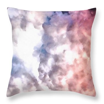 Cloud Sculpting 3 Throw Pillow
