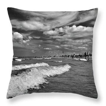Cloud Sound Drama Throw Pillow