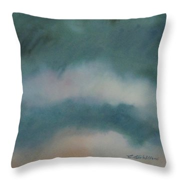 Cloud Study 1 Throw Pillow