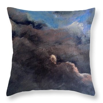 Cloud Study #1 Throw Pillow