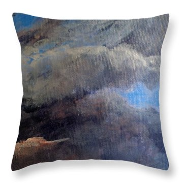 Cloud Study #2 Throw Pillow