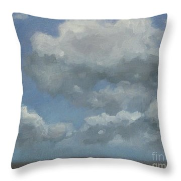 Cloud Study Series Three Throw Pillow