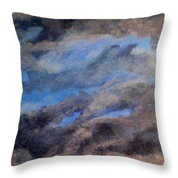 Cloud Study #3 Throw Pillow