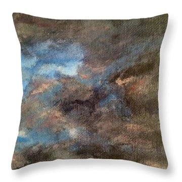 Cloud Study #4 Throw Pillow