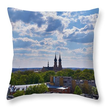 Cloud Ticklers Throw Pillow