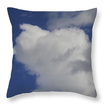 Cloud Trol Throw Pillow