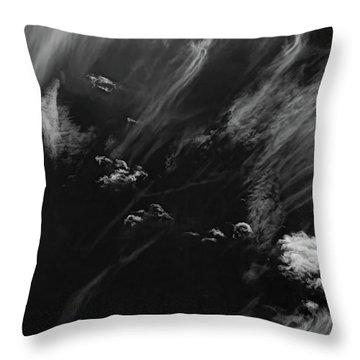 Throw Pillow featuring the photograph Cloud Wisp by Britt Runyon