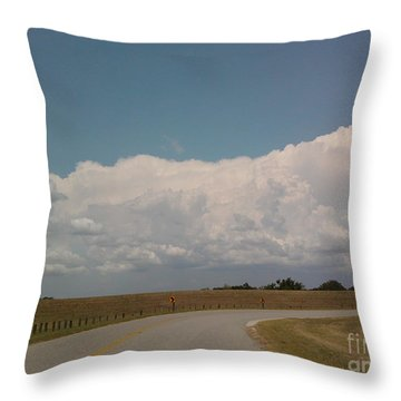 Cloudbank Throw Pillow